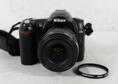 Nikon D50 6.1Mp Digital Slr Camera With Nikkor Af 35-80Mm D