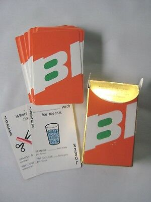 Vintage Braniff International Airlines Playing Cards