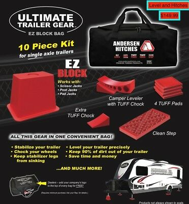 Trailers And Hitches >> Andersen Hitches 3621 Ez Block For Rvs Automotive Leveling