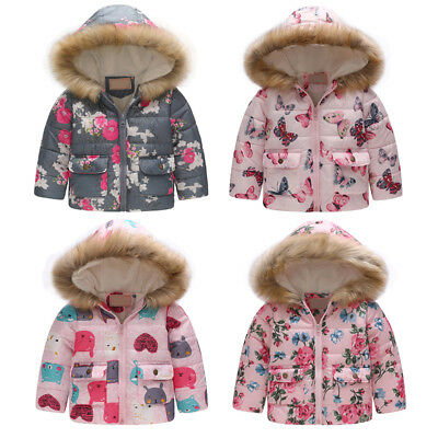 22717d6a5 BUTTERFLY PRINT LIGHTWEIGHT Hooded Jacket by OshKosh Toddler Girl ...