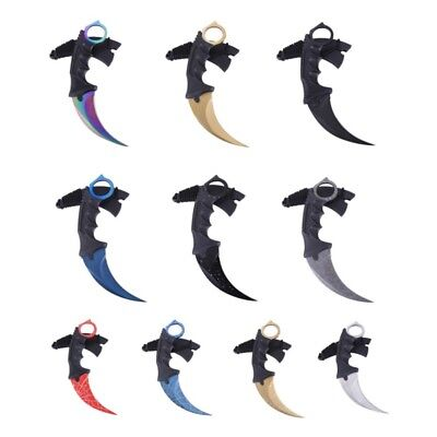 Tactical Combat Karambit Survival Hunting Bowie Fixed Blade Neck Knife Sheath