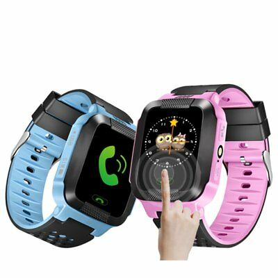Anti-lost GPS Kinder Safety Tracker Kids Telefon Wrist Uhr For Android iPhone