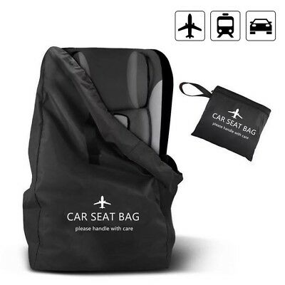Baby Kids Child Car Seat Storage Bag Travel Pouch Protection Gate Check Booster