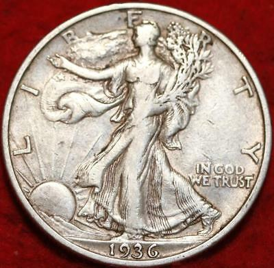 1936-S San Francisco Mint Silver Walking Liberty Half