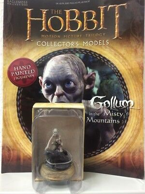 Eaglemoss * Gollum in the Misty Mountains * #21 orc figur & magazine hobbit lord