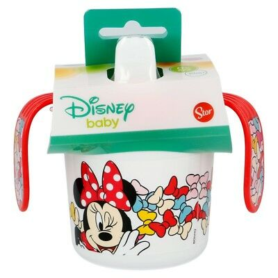 TAZA ENTRENAMIENTO BEBÉ 250 ML. Minnie Mouse COLOR BOWS