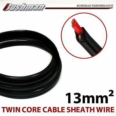 2 Core 13mm Cable Electrical Twin Wire 6AWG Copper Sheath Caravan Marine H Duty