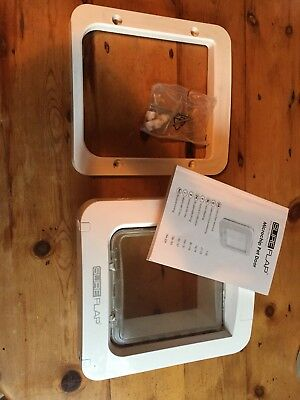 Sureflap microchip pet door (small dogs and cats) - Used But Working Well