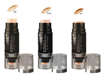 Technic Conceal and Blend Full Coverage Concealer with Blending Sponge - CONTOUR