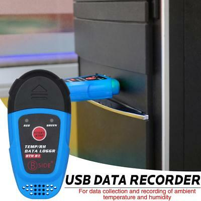 USB Temperature and Humidity Data Logger Recorder High Precision Thermometer