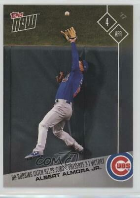 2017 Topps Now Online Exclusive Base #11 Albert Almora Jr Chicago Cubs Card