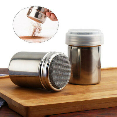 Hot Sale Stainless Steel Chocolate Shaker Icing Sugar Powder Flour Coffee Sifter