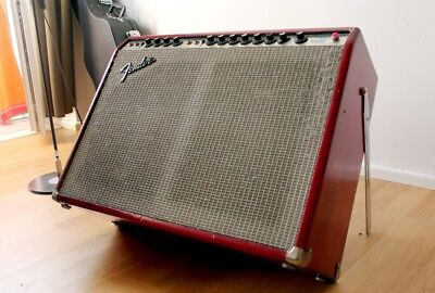 1975 - Fender Twin Reverb - Silverface