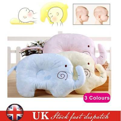 Newborn Baby Infant Kids Anti-Roll Soft Memory Foam Cushion Pillow Support Neck