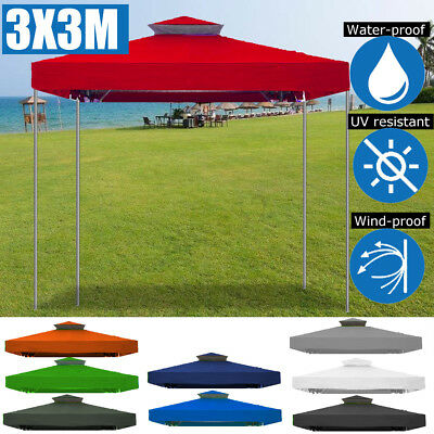 Tent Canopy Gazebo Awnings Pop Up Outdoor Patio Garden Shade Replacement 10'x10'