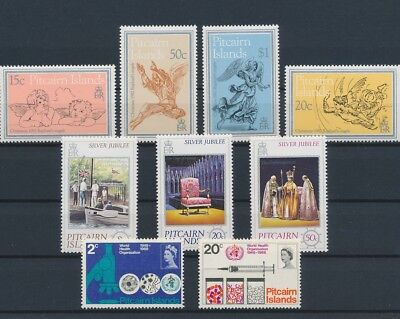 LI99321 Pitcairn Island nice lot of good stamps MNH
