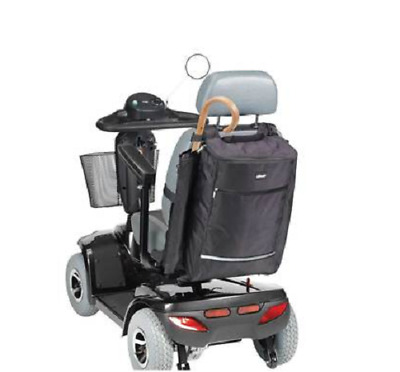 Strong, Waterproof, Mobility Scooter Holdall Bag With Cane & Crutch Holder