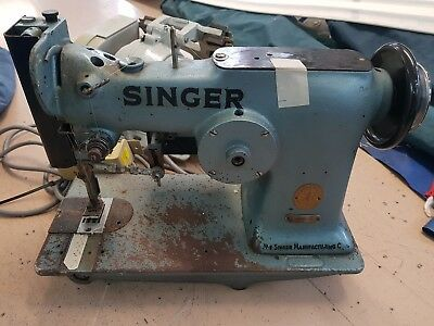 Singer 107-W1 Sewing Machine industrial, 6point/triple step sailmaker sail sew