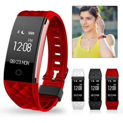 Waterproof Sport Fitness Tracker Watch Heart Rate Activity Monitor Fitbit Style