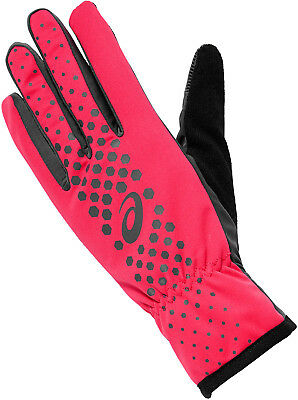 Asics Winter Performance Running Gloves - Pink