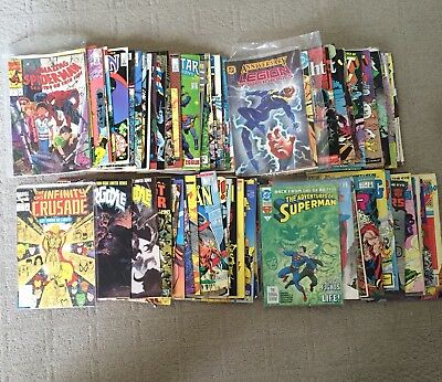 HUGE mixed comic book lot in excellent condition!!!  Great comic book collection
