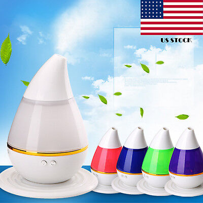 Essential Oil Diffuser Aroma Ultrasonic Humidifier Aromatherapy Air Purifier