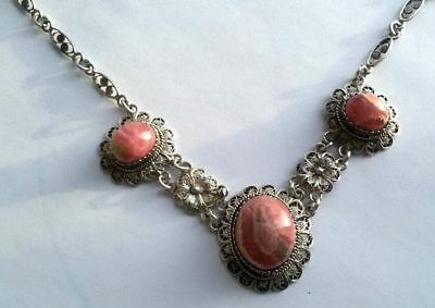 FABERGE Antique Imperial RUSSIAN Necklace with Corals stones, 84 silver.