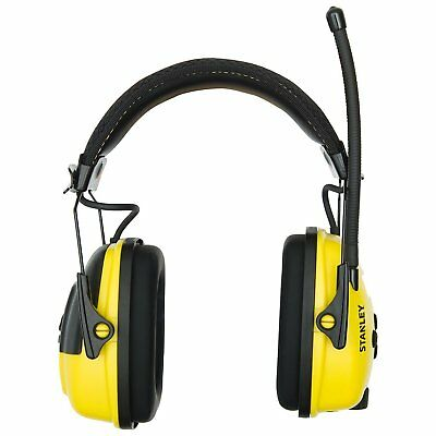 Stanley Sync Stereo Earmuff with MP3 Connection (RST-63011)