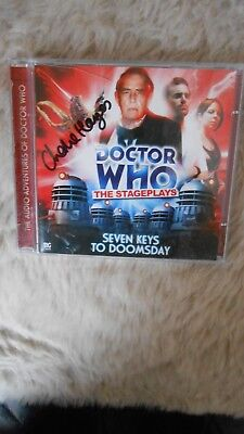 Doctor Who CD,Seven keys to doomsday,signed by Charlie Hayes (Jenny)