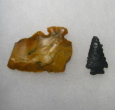 Colorado arrowheads-Rio Blanco county -Foothills corner notch and broken tang kn
