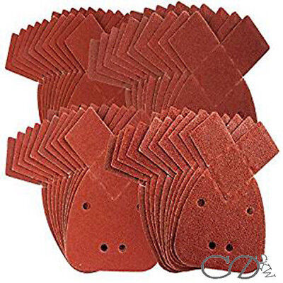 40 Mouse Detail Sanding Sheets to Fit Black and Decker Palm Sander All Grit