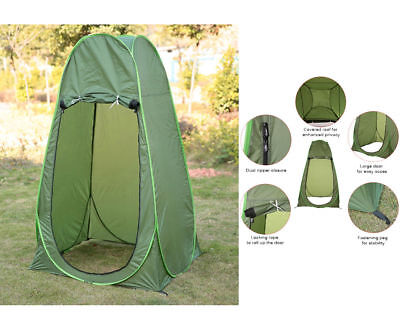 POP UP Camping Shower Toilet Tent Outdoor Portable Change Room Shelter