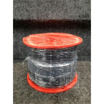 "Steel Cable, 18.46lb Spool, 0.125"", Plastic Covered"
