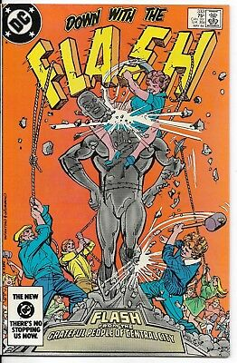 1984 The Flash Issue #333 Dc Comic Book Bag/board Vintage Rare