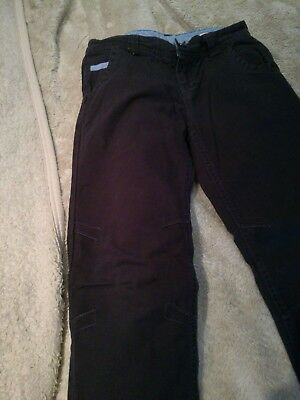 Boys navy jeans trousers from guess vgc age 10