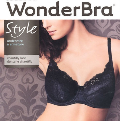 Wonderbra 7484 Full Support Underwire Chantilly Lace Convertible Bra CHOOSE SIZE