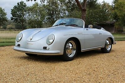 Absolutely Beautiful 1957 Porsche 356 Speedster Factory Built Replica,