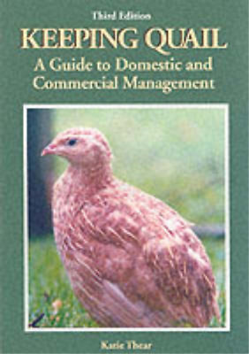 Keeping Quail: A Guide to Domestic and Commercial Management, Thear, Katie, Used