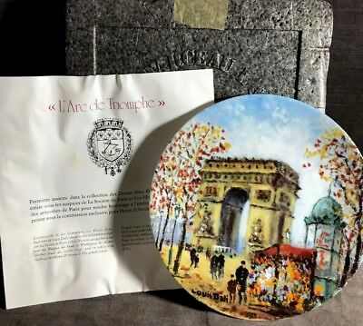 L'arc De Triomphe Limited Edition Collector Plate MS31