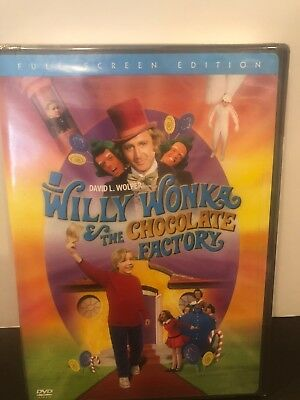 Willy Wonka and the Chocolate Factory Gene Wilder (DVD, 2005, Full Frame) New