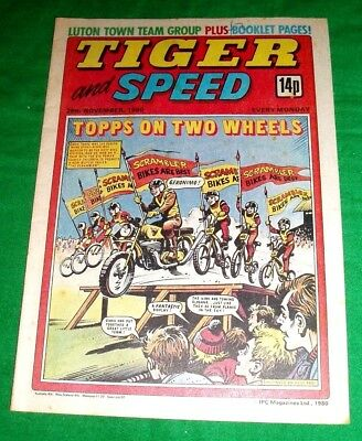 Tiger Comic 1980  With A Super  Luton Town   Colour Centrefold Team Poster
