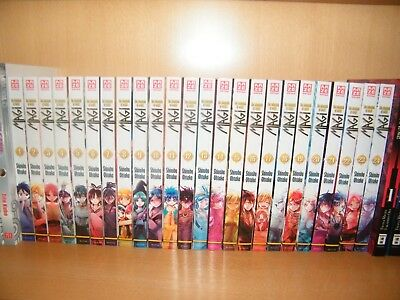 Magi The Labyrinth of Magic Band 1 - 24 Manga - Sammlung