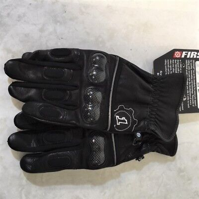FIRSTGEAR Route 36 Gloves (Clearance) Size Md (Black)  Mfr# 516144