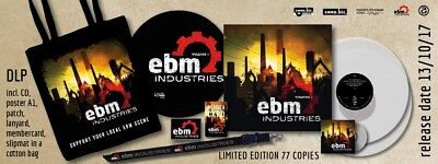 "V.A. ""EBM Industries"" Special Edition with Slipmat, Bag, Lanyard Leaether Strip"