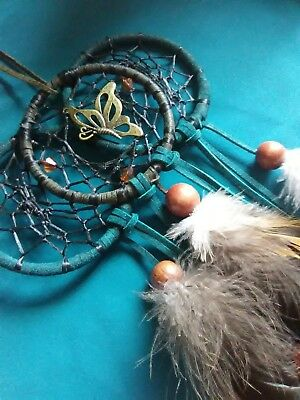 Authentic Ace Nomadic Dream Catcher w butterfly pendant