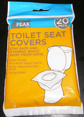 3 packs of Toilet Seat Cover-Stay Safe &Hygienic while away from home - 20