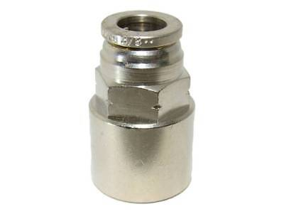 """Numatics 1/8"""" OD Push To Connect X 1/8"""" Female NPT Straight Connector Fitting"""