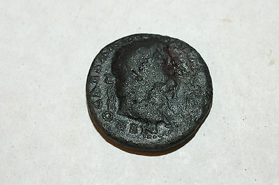 NERO 65AD Goddess of Victory SPQR Ancient Imperial Roman Coin of Rome