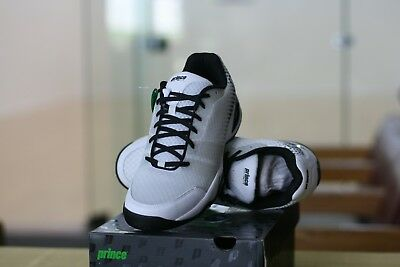 Prince Racquetball Shoes T22 Lite White Mens Size 11.5 Low