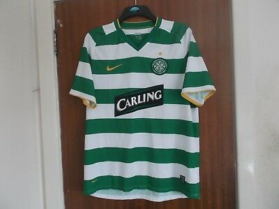 Vintage Celtic Scotland 2008/10 football shirt jersey size mens large